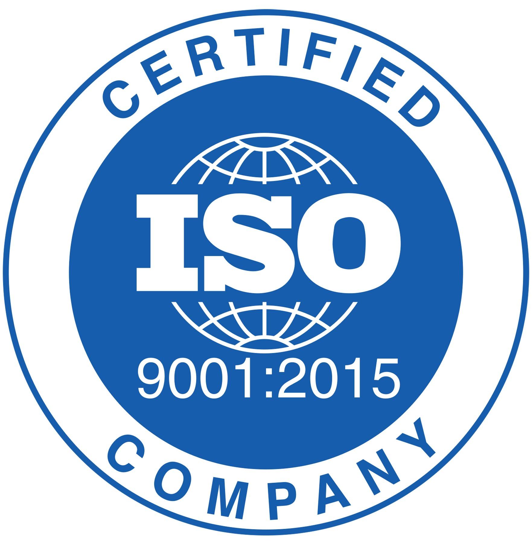 Pajmon posiada ISO 9001:2015