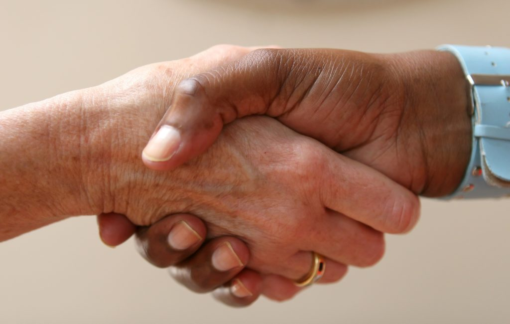 Canva - Shaking Hands for Agreement
